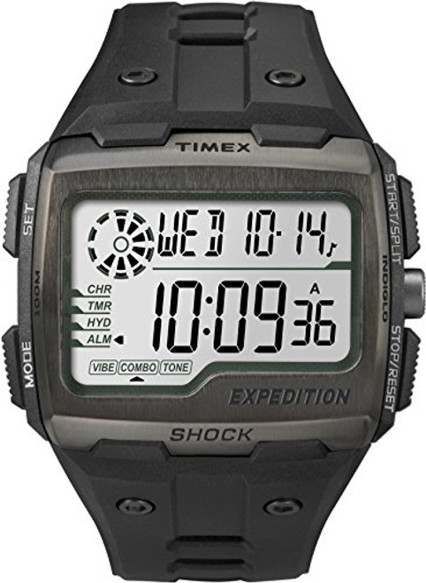 Timex Mens TW4B02500 EXPEDITION GRID SHOCK BLACK