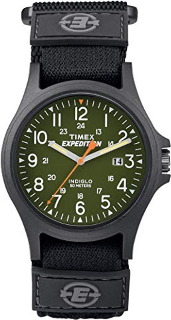 Timex Expedition TW4B00100 EXPEDITION ACADIA GREEN DIAL FAST WRAP  Indiglo - Night Light