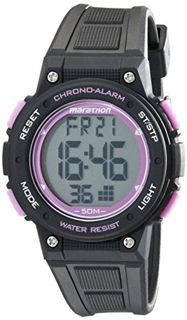 Timex Marathon TW5K84700 MARATHON DIGITAL MID BLACK/PURPLE RSN  Indiglo - Night Light