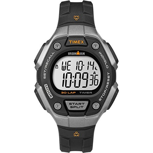 Timex Ironman TW5K89200 IRONMAN CLASSIC 30 LAP MID BLK/SILVER  Indiglo Night Light