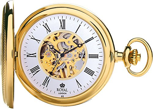 Royal London Pocket Watch C 90047-01 Stainless Steel, Mechanical