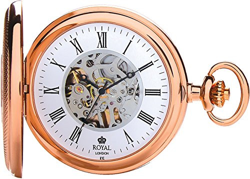 Royal London Pocket Watch C 90047-02  Stainless Steel, Mechanical