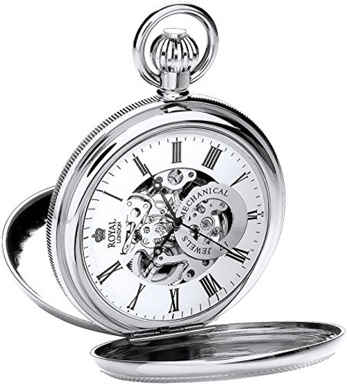 Royal London Pocket Watch C 90048-01  Stainless Steel, Mechanical
