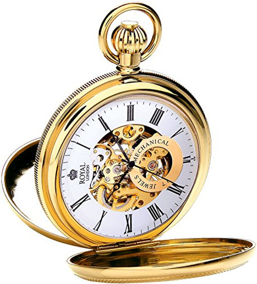 Royal London Pocket Watch C 90048-02  Stainless Steel, Mechanical