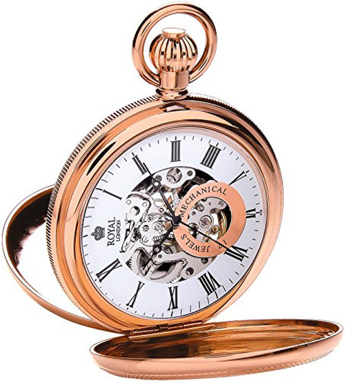 Royal London Pocket Watch C 90048-03  Stainless Steel, Mechanical