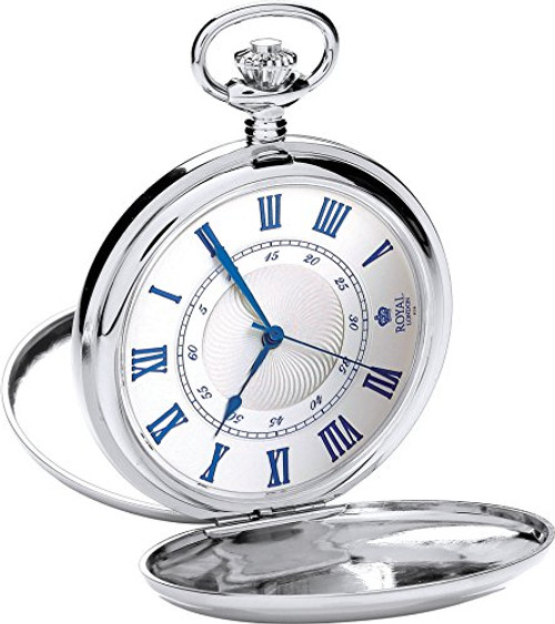 Royal London Pocket Watch C 90050-01  Stainless Steel, Quartz