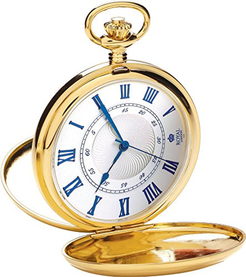 Royal London Pocket Watch C 90050-02 Stainless Steel, Quartz
