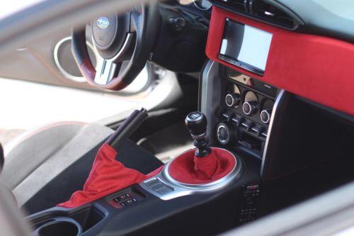 Autoguru E Brake Boot Cover Leather Made for Subaru BRZ Scion GRS Toyota GT86 2013-2020 Black