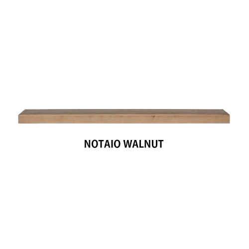 NOTAIO WALNUT Wood Floating shelf