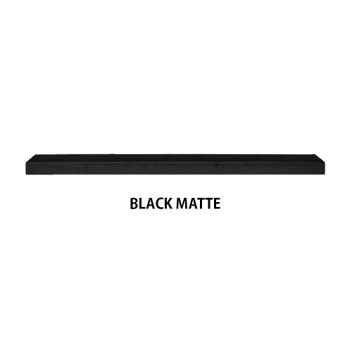 BLACK MATTE Floating shelf