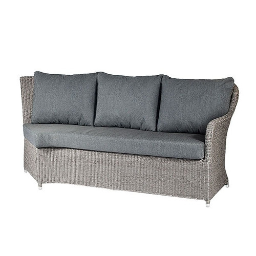 Alexander Rose Monte Carlo Rattan Double Left Hand Sofa Module With Cushions
