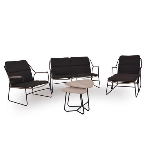 4 Seasons Outdoor - Scandic 5 Piece Rope Sofa Set