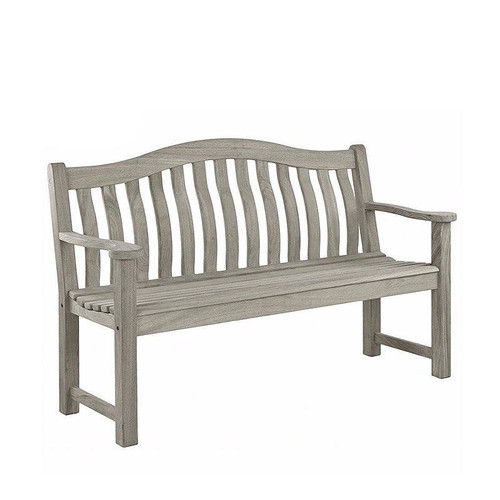 Alexander Rose Old England Grey Painted Turnberry Garden Bench 5ft