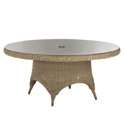 4 Seasons Outdoor - Victoria Rattan Dining Table 130cm