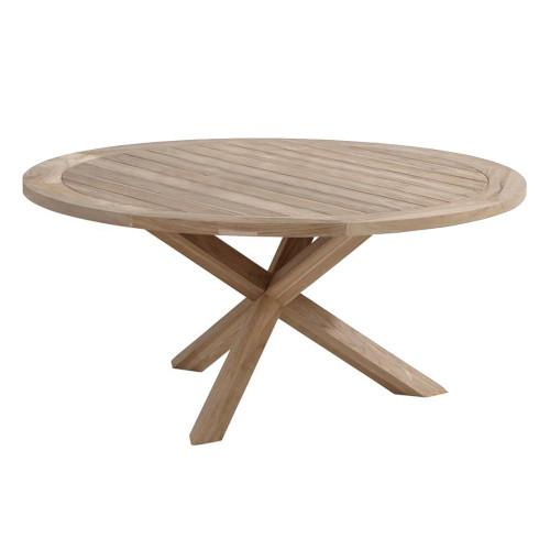 4 Seasons Outdoor - Louvre Dining Table Teak 160cm