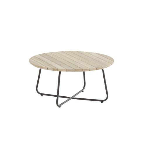 4 Seasons Outdoor - Axel Round Teak Coffee Table Ø 73cm