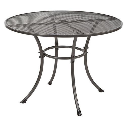 Alexander Rose Portofino Metal Round Garden Table 1.05M