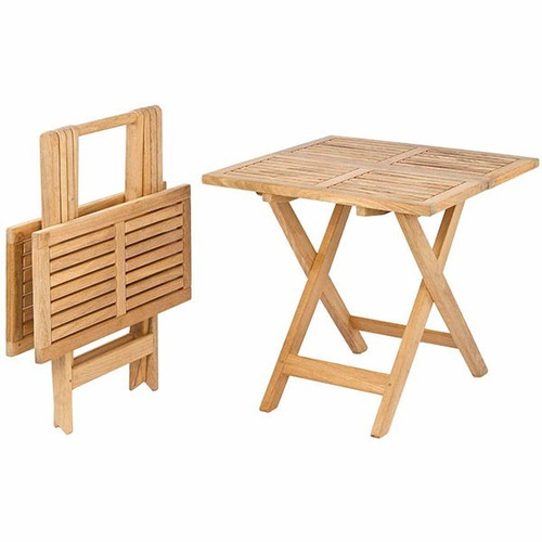 Alexander Rose Roble Small Occasional Garden Table 0.53m