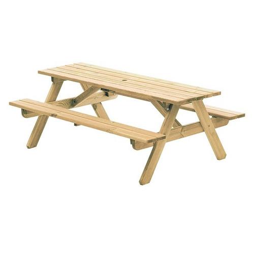 Alexander Rose Pine Woburn Garden Table 6ft
