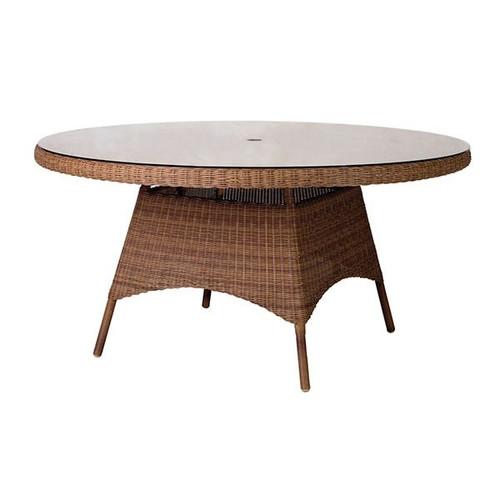 Alexander Rose San Marino Garden Glass Top Table 1.5m