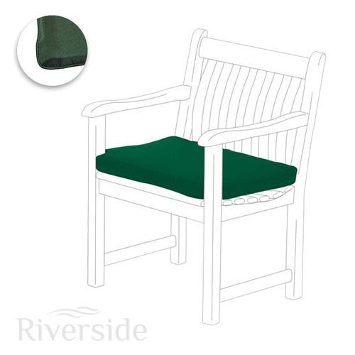 Alexander Rose Polyester Armchair Cushion - Green