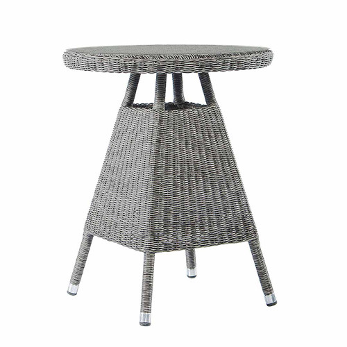 Alexander Rose Monte Carlo Rattan Tea Table Grey 0.6M