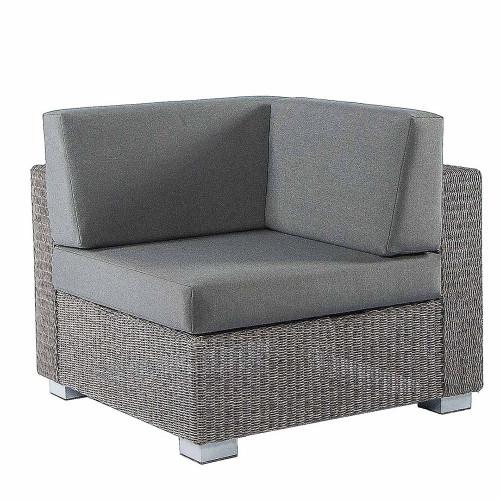 Alexander Rose Monte Carlo Rattan Corner Piece Sofa With Cushions