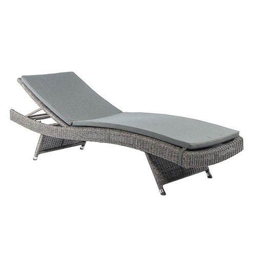 Alexander Rose Monte Carlo Rattan Sun Lounger With Cushion