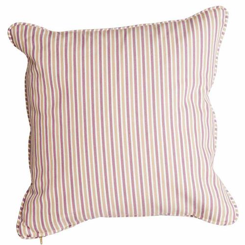 Alexander Rose Lavender Stripe Scatter Cushion