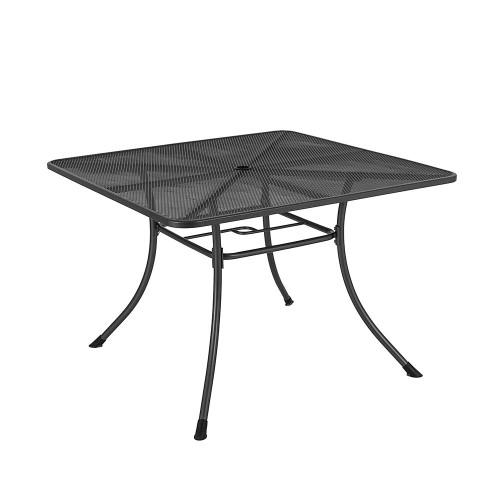 Alexander Rose Portofino Metal Square Table, 1.1m x 1.1m