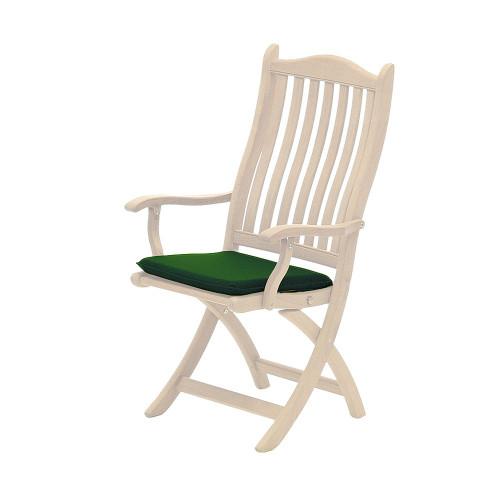Alexander Rose Olefin Seat Pad, Green