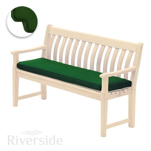 Alexander Rose Olefin Bench Cushion 4ft, Green
