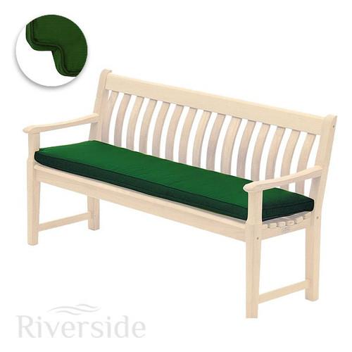 Alexander Rose Olefin Bench Cushion 5ft, Green