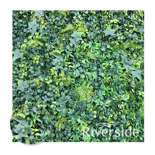 WonderWal Artificial Hedge Screening - Shutter Grass 100 x 100cm