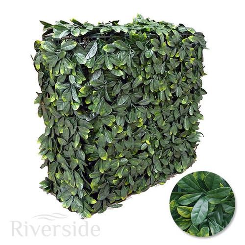 WonderWal Artificial Topiary - Laurel Hedge 75x25x75cm