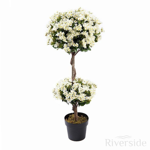 Artificial Daisy Topiary Tree, 110cm (3.6ft)