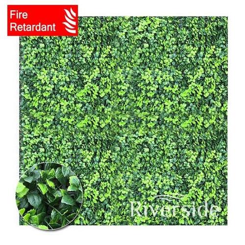 WonderWal Artificial Hedge Screening - Eucalyptus (Flame Retardant) 100x100cm