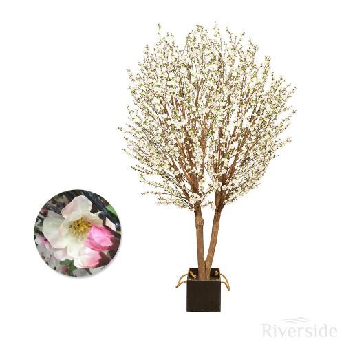 Artificial Cherry Blossom Tree 244cm (8ft), Peach