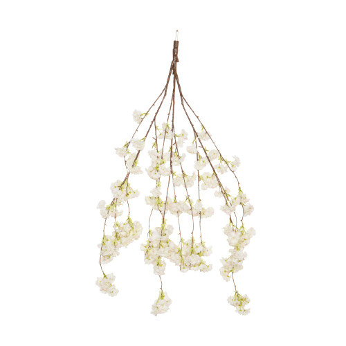 Spare Branch for Canopy Tree 110cm, Cream Hanging Cherry Blossom