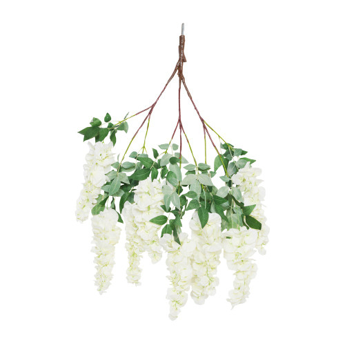 Spare Branch for Canopy Tree, Cream Short Wisteria