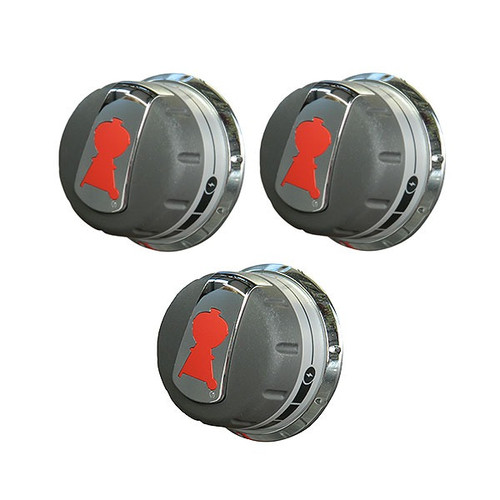 Weber® Replacement Control Knob Set for Genesis® 300 Series