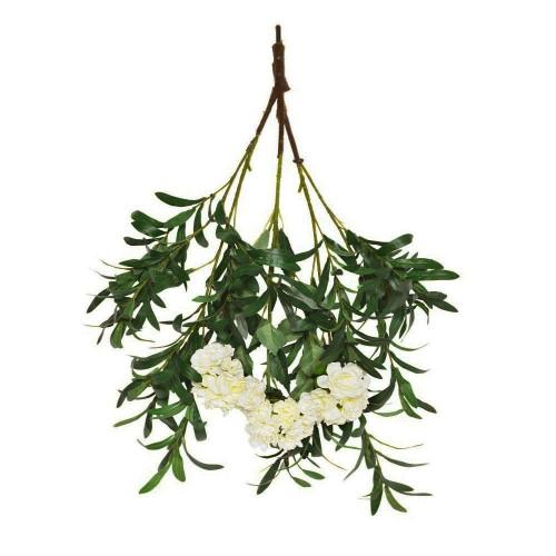 Artificial Ruscus Blossom Branch 85cm