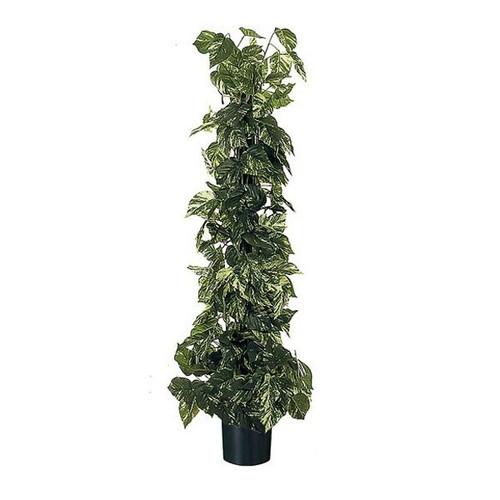 Artificial Pothos Tree 125cm (4ft), Variegated