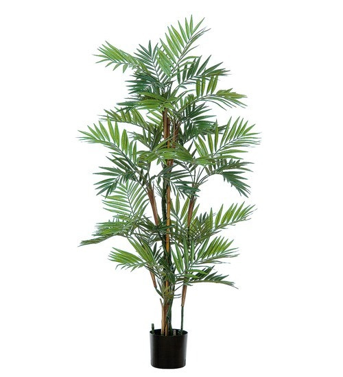 Artificial Parlour Palm Tree 140cm (4ft), Green