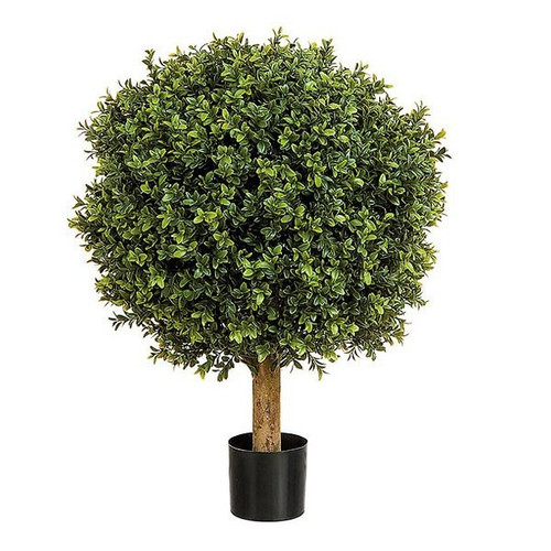 Artificial Topiary Boxwood Ball, 50cm (1.7ft)