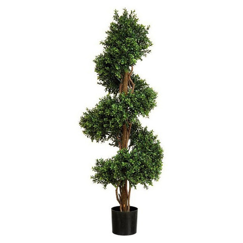 Artificial Topiary - Boxwood Spiral Tree, 152cm (5ft)