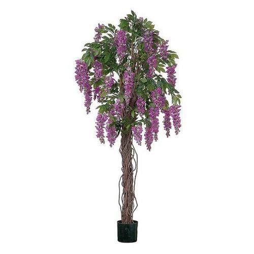 Artificial Wisteria Tree 152cm (5ft), Purple