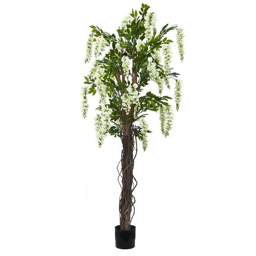 Artificial Trees - 6ft Cream Wisteria (Silk)
