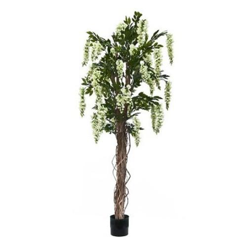 Artificial 4ft Cream Wisteria Tree