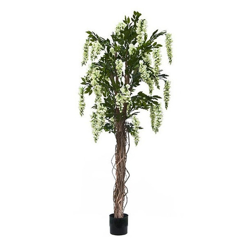 Artificial Wisteria Tree 182cm (5ft), Cream